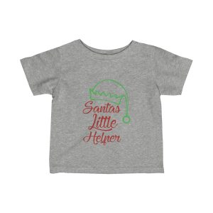 Santas Little Helper | Infant Fine Jersey Tee