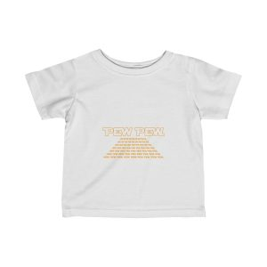 Pew Pew Wars | Infant Fine Jersey Tee