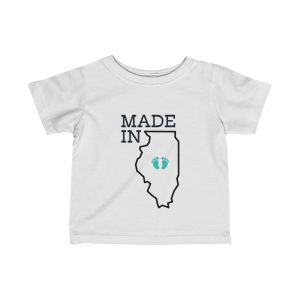 Made in Illinois | Infant Fine Jersey Tee