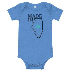 Made in Illinois | Easy Change Onesie