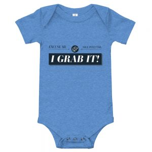 Excuse Me. Nice Ponytail. I GRAB IT! | Easy Change Onesie