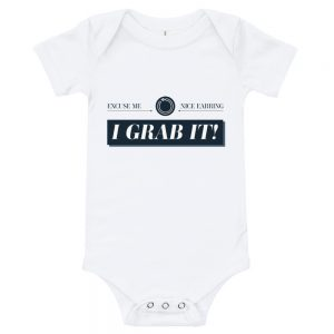 Excuse Me. Nice Earring. I GRAB IT! | Easy Change Onesie