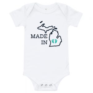 Made in Michigan | Easy Change Onesie
