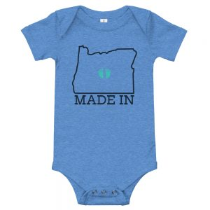 Made in Oregon | Easy Change Onesie