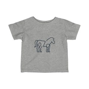 Minimal Horse | Infant Fine Jersey Tee