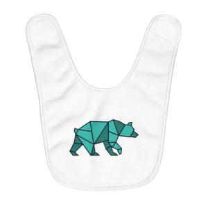Bearigami | Fleece Baby Bib