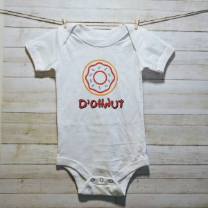 D'ohnut Time | Easy Change Onesie