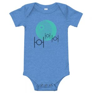 That's no moon. It's a space station. | Easy Change Onesie