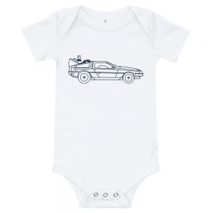 DeLorean | Easy Change Onesie
