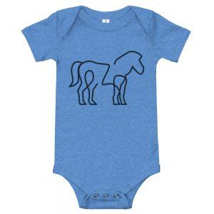 Minimal Horse | Easy Change Onesie