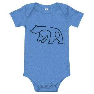Minimal Bear | Easy Change Onesie