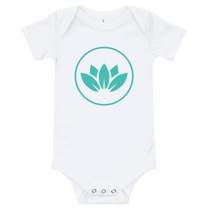 Blooming Lotus Baby | Easy Change Onesie