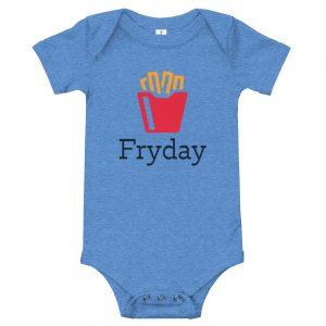 It's Fryday | Easy Change Onesie