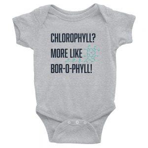 Chlorophyll? More Like Bor-O-Phyll! | Easy Change Onesie, Infant Bodysuit